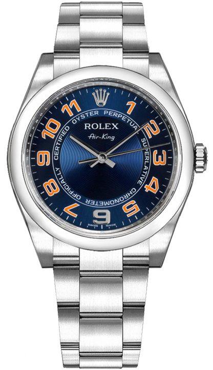replique Montre pour homme Rolex Oyster Perpetual Air-King 114200