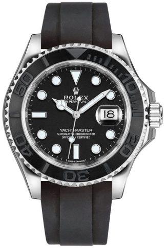 replique Montre pour homme Rolex Yacht-Master 42 en or blanc 226659