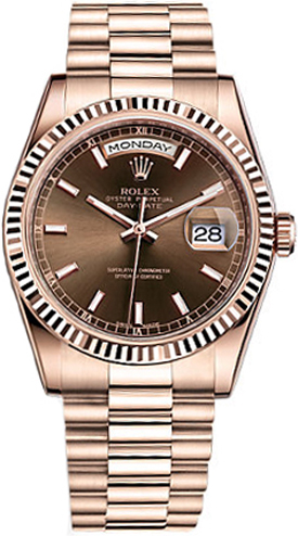replique Montre suisse Rolex Day-Date 36 118235