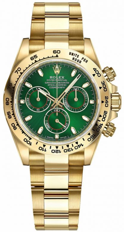 replique Rolex Cosmograph Daytona cadran vert 116508