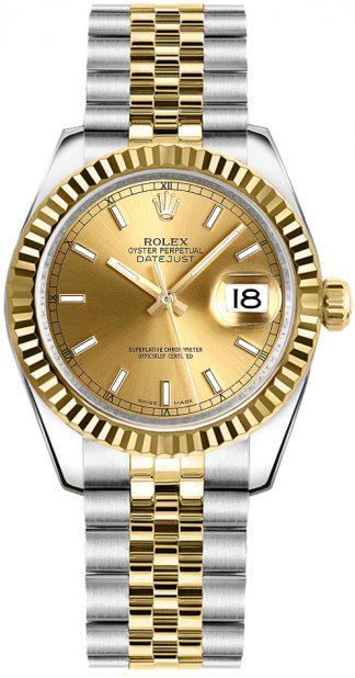 replique Rolex Datejust 31 Automatic Ladies Watch 178273