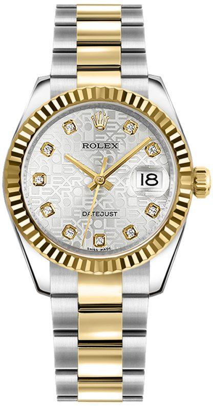 replique Rolex Datejust 31 Luxury Jubilee Diamond Watch 178273