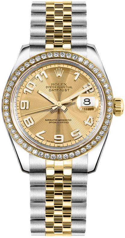 replique Rolex Datejust 31 Montre de luxe pour femme 178383