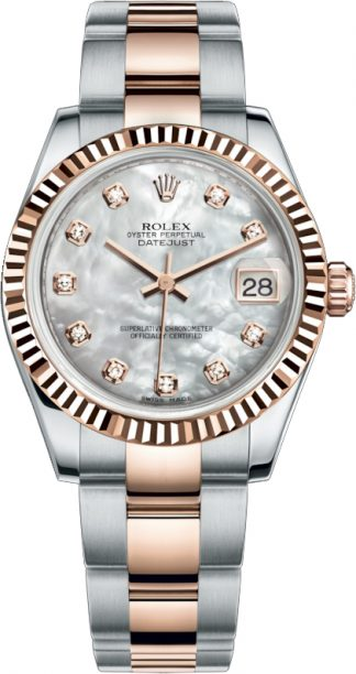 replique Rolex Datejust 31 Mother of Pearl Dial Watch 178271