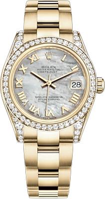replique Rolex Datejust 31 cadran à chiffres romains 178158