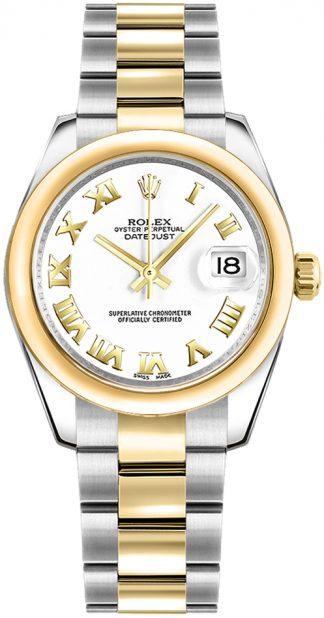 replique Rolex Datejust 31 cadran blanc 178243