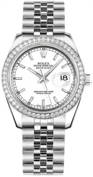 replique Rolex Datejust 31 cadran blanc 178384