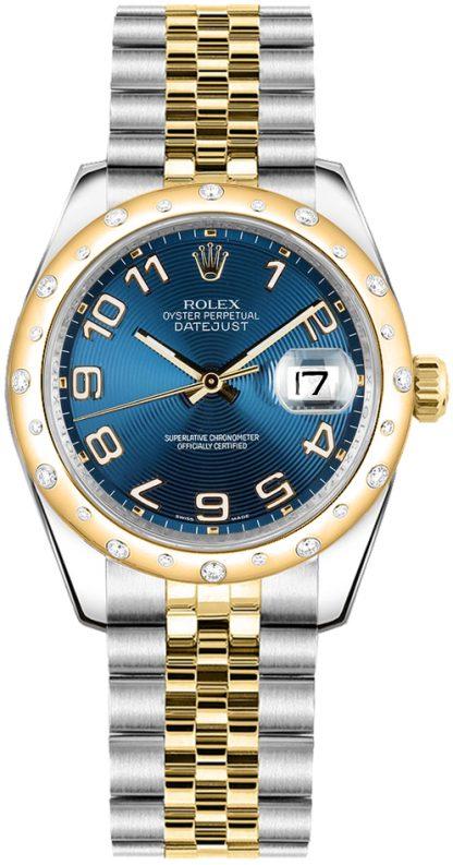replique Rolex Datejust 31 cadran bleu 178343