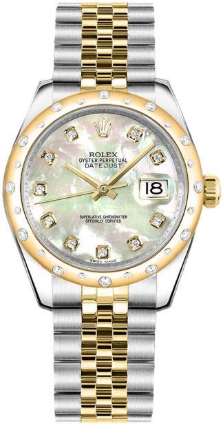 replique Rolex Datejust 31 cadran nacre 178343