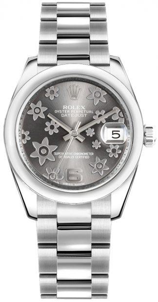 replique Rolex Datejust 31 cadran rhodié 178240