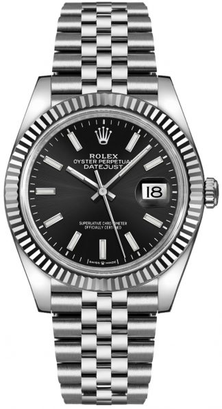replique Rolex Datejust 36 Black Dial Men's Watch 126234