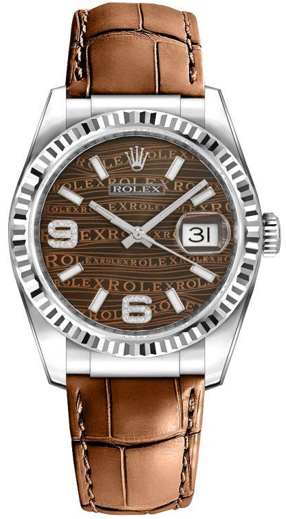 replique Rolex Datejust 36 Bronze Dial Watch 116139