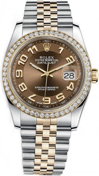 replique Rolex Datejust 36 Bronze Dial Watch 116243