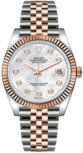 replique Rolex Datejust 36 Diamond Hour Markers Jubilee Men's Watch 126231