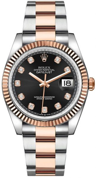 replique Rolex Datejust 36 Diamond Hour Markers Men's Watch 126231
