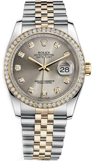 replique Rolex Datejust 36 Diamond Watch 116243
