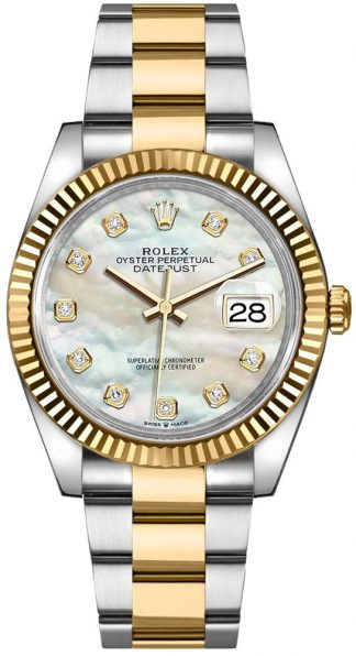 replique Rolex Datejust 36 Mother of Pearl Women's Watch 126233
