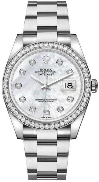 replique Rolex Datejust 36 Oyster Bracelet Women's Watch 126284RBR