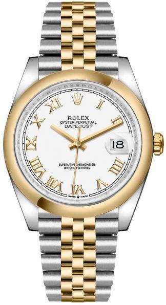 replique Rolex Datejust 36 Roman Numerals Men's Watch 126203