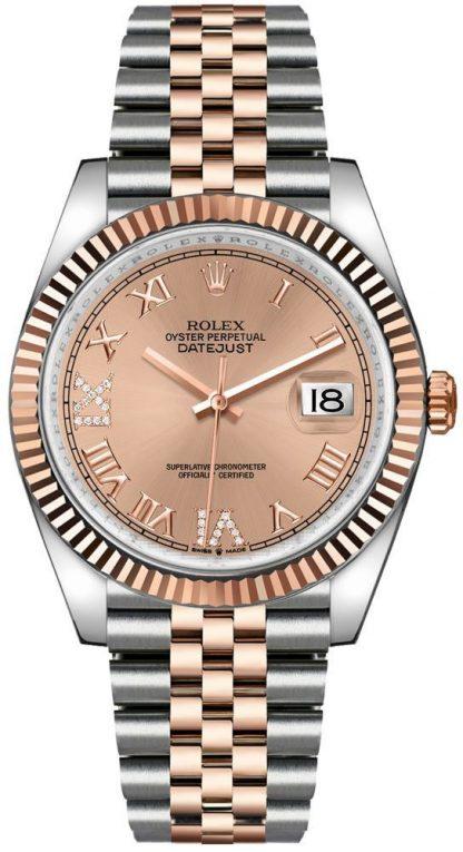 replique Rolex Datejust 36 Rose Dial Women's Watch 126231