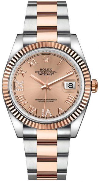 replique Rolex Datejust 36 Rose Pink Dial Oyster Bracelet Women's Watch 126231