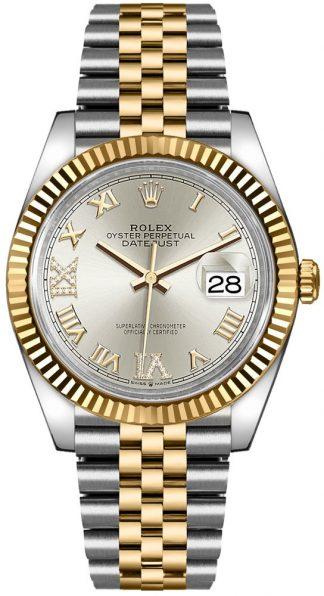 replique Rolex Datejust 36 Silver Dial Watch 126233
