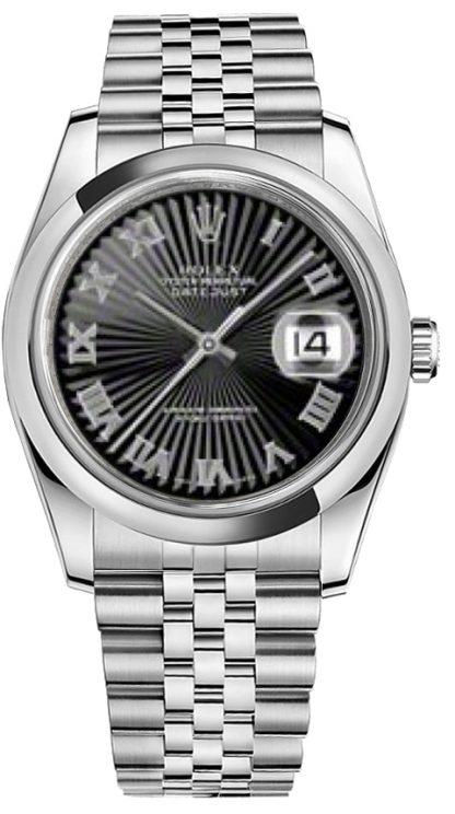 replique Rolex Datejust 36 cadran à chiffres romains 116200