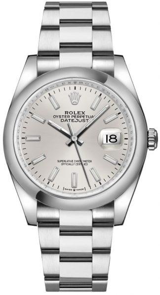 replique Rolex Datejust 36 cadran argenté Oystersteel Watch 126200
