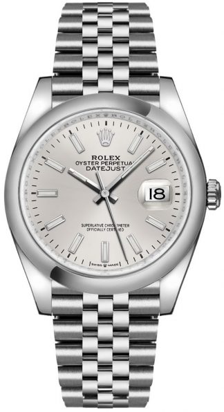 replique Rolex Datejust 36 cadran argenté Oystersteel montre homme 126200