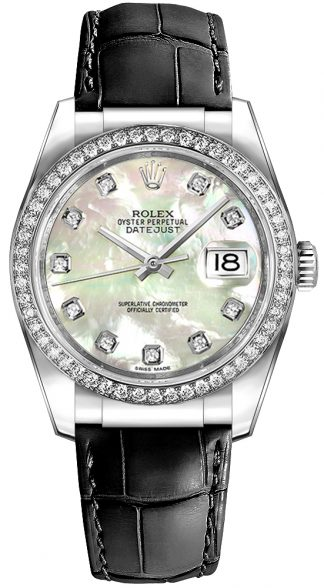 replique Rolex Datejust 36 cadran nacre 116189