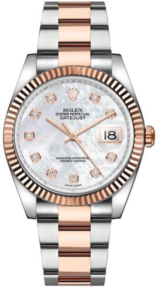 replique Rolex Datejust 36 nacre montre en diamant 116231