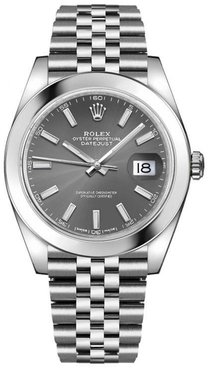 replique Rolex Datejust 41 Oystersteel Men's Watch 126300
