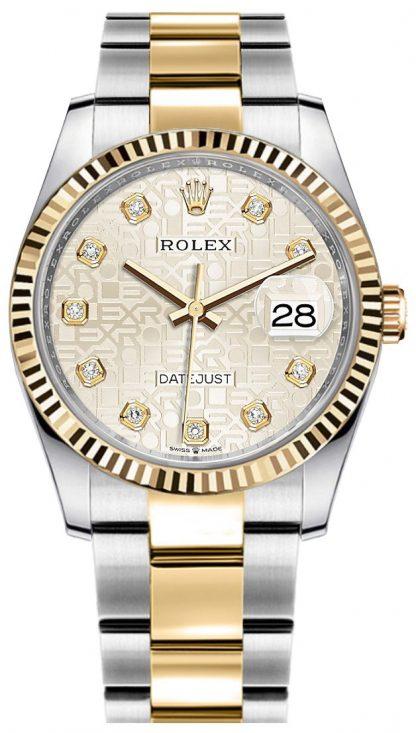 replique Rolex Datejust Silver Jubilee Women's Watch 126233