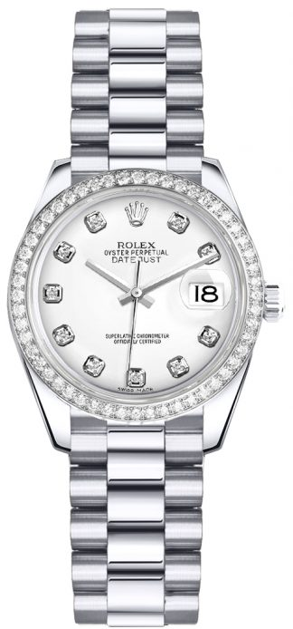 replique Rolex Lady-Datejust 26 Diamond Watch 179136