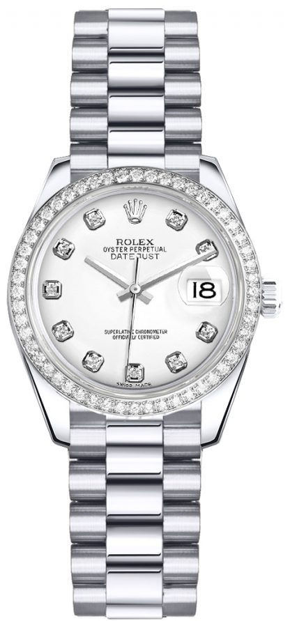 replique Rolex Lady-Datejust 26 Diamond Watch 179136