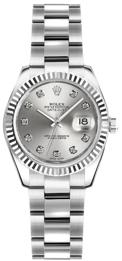 replique Rolex Lady-Datejust 26 Diamond Watch 179174