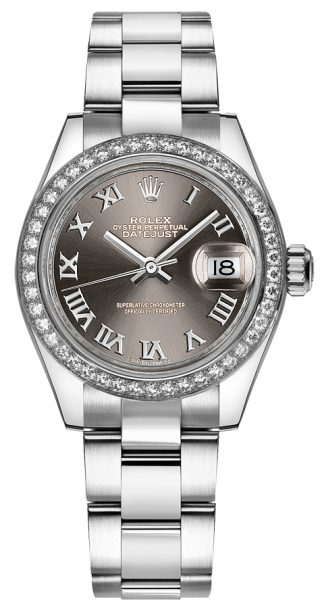 replique Rolex Lady-Datejust 28 Luxury Women's Watch 279384RBR