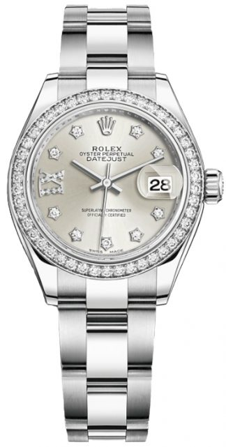 replique Rolex Lady-Datejust 28 Oyster Bracelet Women's Watch 279384RBR