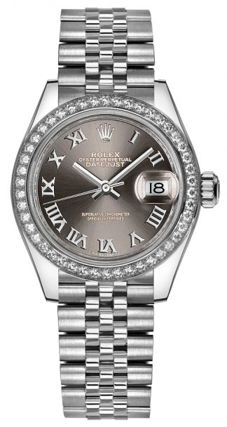 replique Rolex Lady-Datejust 28 Watch 279384RBR