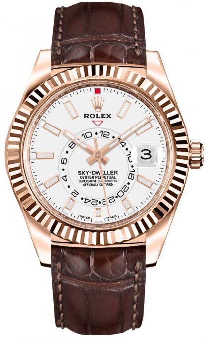 replique Rolex Sky-Dweller Men's Watch 326135
